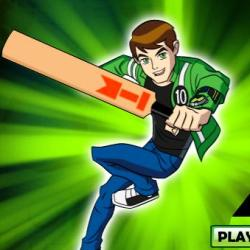 Ben 10 Ultimate Alien Cricket играй в флеш игры бесплатно онлайн на flash.com.ru