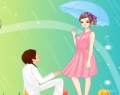 Proposal in the Rain Dress Up играй в флеш игры бесплатно онлайн на flash.com.ru