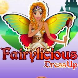 Fairylicious Dress Up играй в флеш игры бесплатно онлайн на flash.com.ru