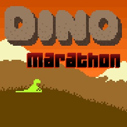 Dino Run Marathon of Doom играй в флеш игры бесплатно онлайн на flash.com.ru