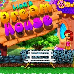 Lisa's Dream House играй в флеш игры бесплатно онлайн на flash.com.ru