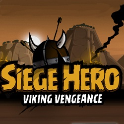 Siege Hero - Viking Vengeance играй в флеш игры бесплатно онлайн на flash.com.ru