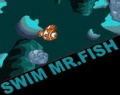 Swim Mr Fish играй в флеш игры бесплатно онлайн на flash.com.ru