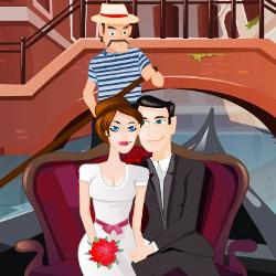 Kissing in a Gondola играй в флеш игры бесплатно онлайн на flash.com.ru