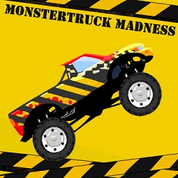 Monstertruck Madness играй в флеш игры бесплатно онлайн на flash.com.ru