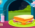 Yummy Sandwich Decoration играй в флеш игры бесплатно онлайн на flash.com.ru