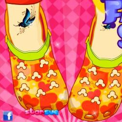 Croc Fashion Shoes играй в флеш игры бесплатно онлайн на flash.com.ru