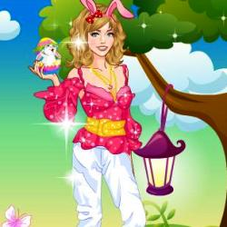 Beauty Easter Girl играй в флеш игры бесплатно онлайн на flash.com.ru