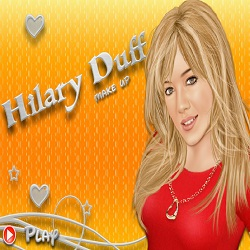 Hilary Duff Makeup играй в флеш игры бесплатно онлайн на flash.com.ru