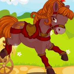 Cute Horse Dress Up играй в флеш игры бесплатно онлайн на flash.com.ru