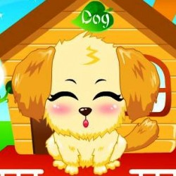 Cute Pet Dog играй в флеш игры бесплатно онлайн на flash.com.ru