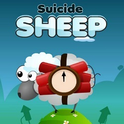 Suicide Sheep играй в флеш игры бесплатно онлайн на flash.com.ru