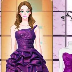 Purple Prom Shoes играй в флеш игры бесплатно онлайн на flash.com.ru