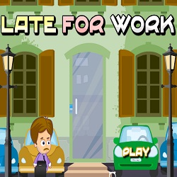 Late For Work играй в флеш игры бесплатно онлайн на flash.com.ru