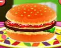 Hamburger Decoration играй в флеш игры бесплатно онлайн на flash.com.ru