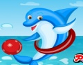 Joyful Dolphin Decorating играй в флеш игры бесплатно онлайн на flash.com.ru