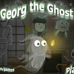Georg the Ghost играй в флеш игры бесплатно онлайн на flash.com.ru