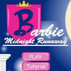 Barbie Midnight Runaway играй в флеш игры бесплатно онлайн на flash.com.ru