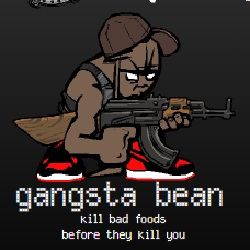 Gangsta Bean играй в флеш игры бесплатно онлайн на flash.com.ru