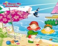 Perfect Beach Decorating играй в флеш игры бесплатно онлайн на flash.com.ru
