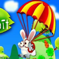 Flying Rabbit играй в флеш игры бесплатно онлайн на flash.com.ru