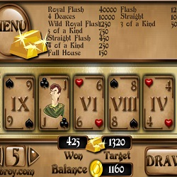 Poker The Roman Architect играй в флеш игры бесплатно онлайн на flash.com.ru