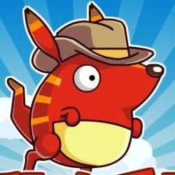 Angry Kangaroo играй в флеш игры бесплатно онлайн на flash.com.ru