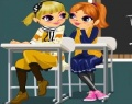 Talk in Class Dress Up играй в флеш игры бесплатно онлайн на flash.com.ru