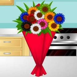 Flower Bouquet Design играй в флеш игры бесплатно онлайн на flash.com.ru
