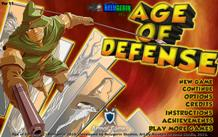 Age of Defense играй в флеш игры бесплатно онлайн на flash.com.ru