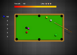 Игра Billiard Training  онлайн. Играть бесплатно