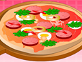 Pizza-Fun играй в флеш игры бесплатно онлайн на flash.com.ru