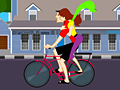 Cycling Kiss играй в флеш игры бесплатно онлайн на flash.com.ru