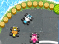 Raccoon racing играй в флеш игры бесплатно онлайн на flash.com.ru