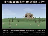 Flying Spaghetti Monster играй в флеш игры бесплатно онлайн на flash.com.ru