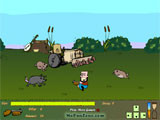 Farmer Mcjoy - Bessies Revenge играй в флеш игры бесплатно онлайн на flash.com.ru